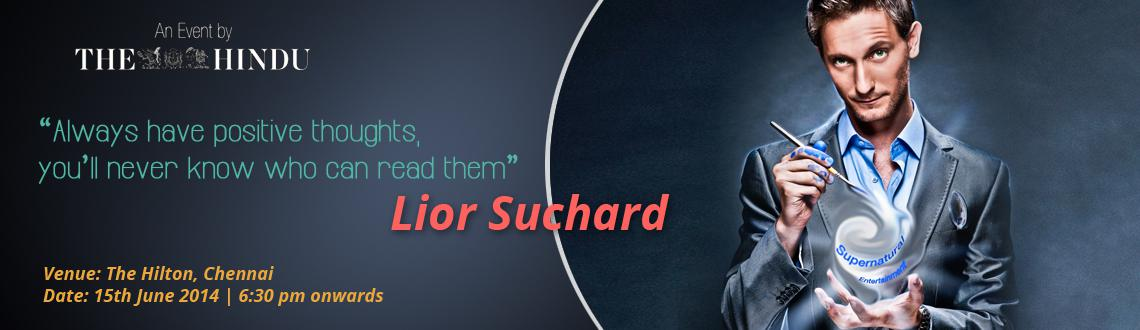 Lior Suchard Live at Chennai -  Super Natural Entertainer and Mind Reader