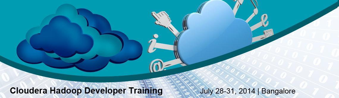 Cloudera Hadoop Developer Training at Bangalore( 28 - 31 July, 2014)