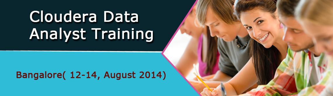 Book Online Tickets for Cloudera Data Analyst Training - Bangalo, Bengaluru. EARLY BIRD DISCOUNT CODE - CDA12