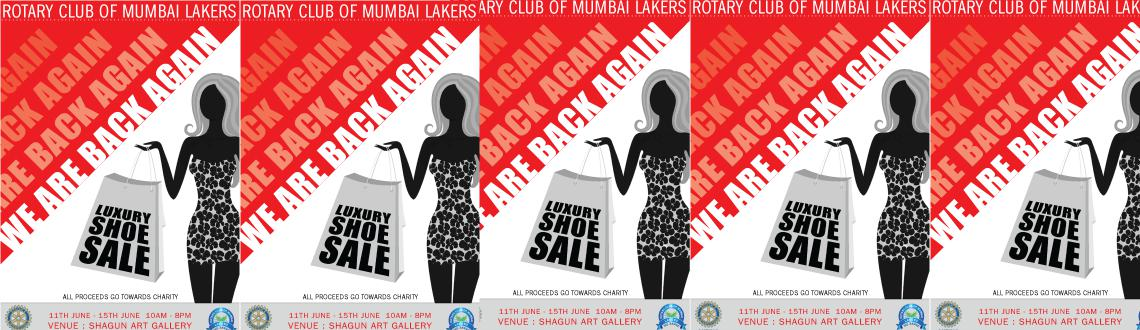Book Online Tickets for Shoe Sale for Child Education, Mumbai. Rptary Club of Mumbai Lakers based in Hiranandani Powai is organizing a Branded luxury sandals sale for women. All proceeds of this sale will be used for child education through our Partner NGO - Vidya.