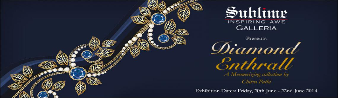 Book Online Tickets for Diamond Enthrall by Valanda, Bengaluru. Diamond Enthrall is a mesmerizing collection by Chitra Pathi. A collection that is truly captivating & features a magical myriad of sparkling diamonds in shades of White, Yellow and Pink set in 18kt, in the hands of mature craftsmanship.The eleme