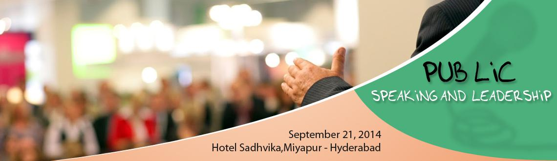 Book Online Tickets for PUBLIC SPEAKING AND LEADERSHIP COURSE: P, Hyderabad. PUBLIC SPEAKING AND LEADERSHIP COURSE STARTING FROM 1Nov.