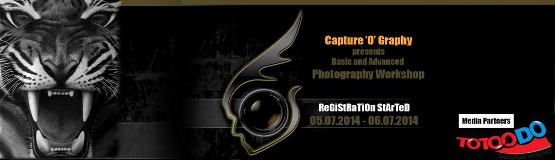 Basic and Advanced Photography Workshop - Bangalore