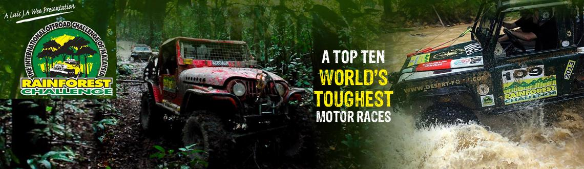 Book Online Tickets for International off-road motorsport event,, Panaji. Off-road enthusiasts and 4x4 vehicle owners, gear up for the most exciting and toughest motorsport event ever witnessed in India. The Rainforest Challenge (RFC), which is among the top ten toughest and the most internationally represented motor races