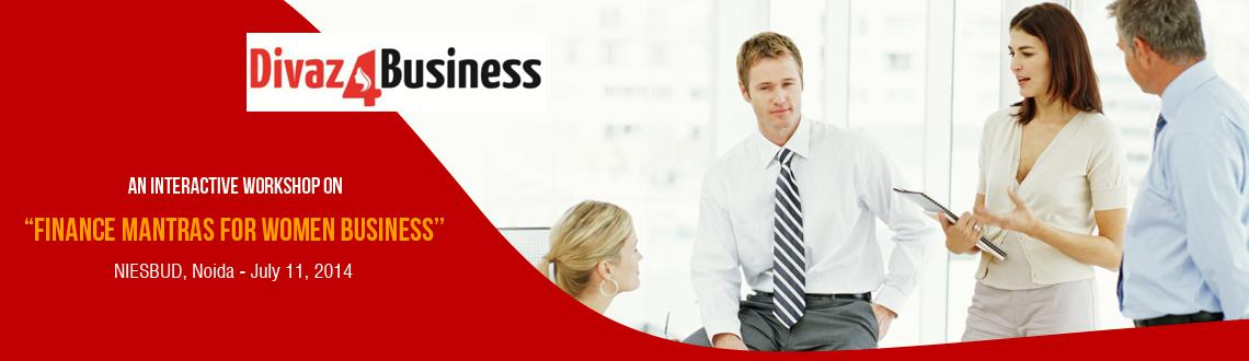 Finance Mantras For  Women Businesses Noida