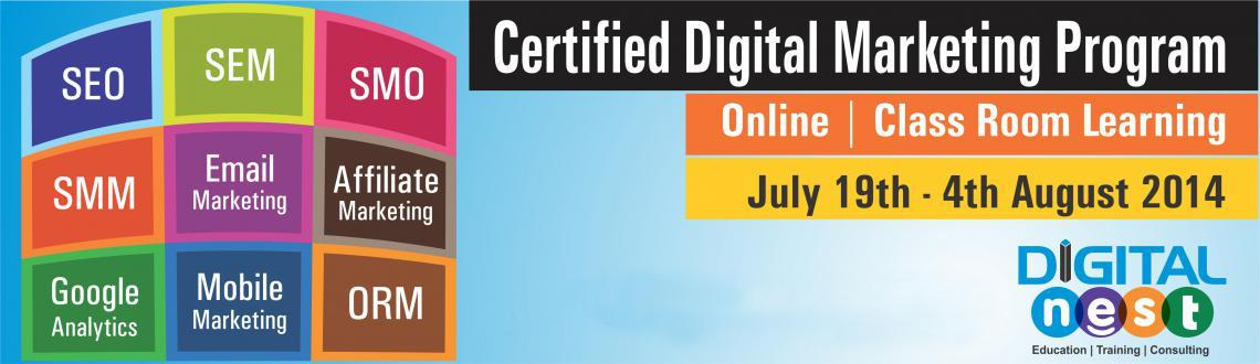 Online Certified Advanced Digital Marketing Course