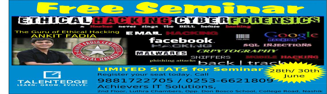 Ethical Hacking: Free Seminar