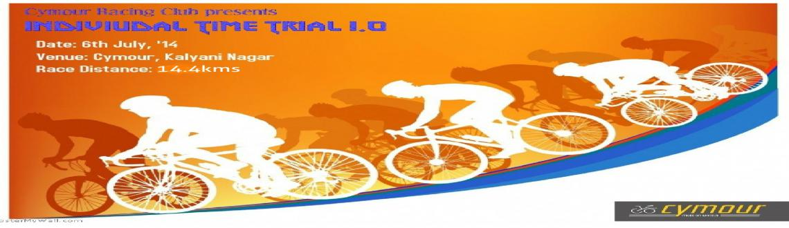 Book Online Tickets for CRC Individual Time Trial -1.0, Pune. Cymour Racing Club presents its first edition of race as an Individual Time Trial of 14.4 kmsThis will be on a closed circut of 2.4kms with 6 laps.