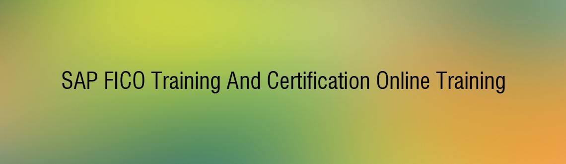 SAP FICO Training And Certification Online Training