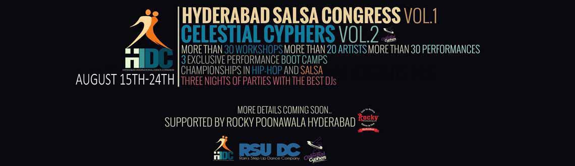 Combo Offer for CELESTIAL CYPHERS and HYDERABAD SALSA CONGRESS