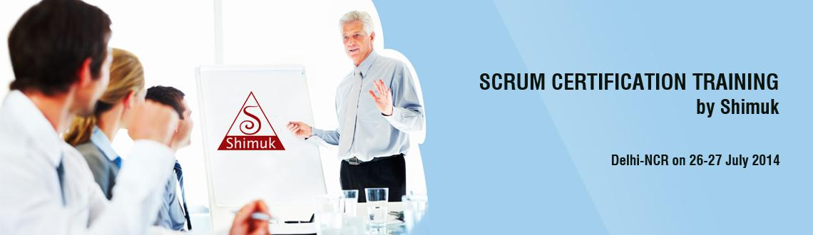 Book Online Tickets for Scrum Certification Training by Shimuk i, Noida. Scrum Certification Training by Shimuk   Overview  2 Days Scrum Master Certified (SMC™) classroom trainings are offered by Shimuk. Scrum Master Certified (SMC™) professionals are facilitators who ensure that the Sc
