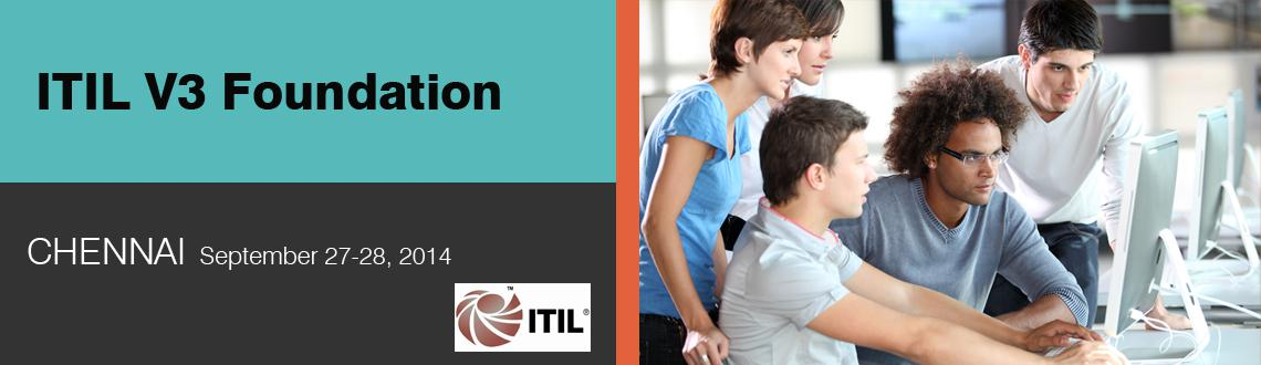 Book Online Tickets for ITIL V3 Foundation, Chennai. Dear Sir/Madam,