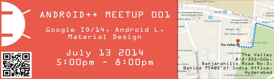 Android++ Meetup 001
