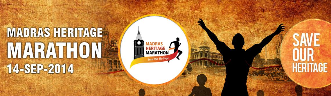 Book Online Tickets for Madras Heritage Marathon , Chennai. 