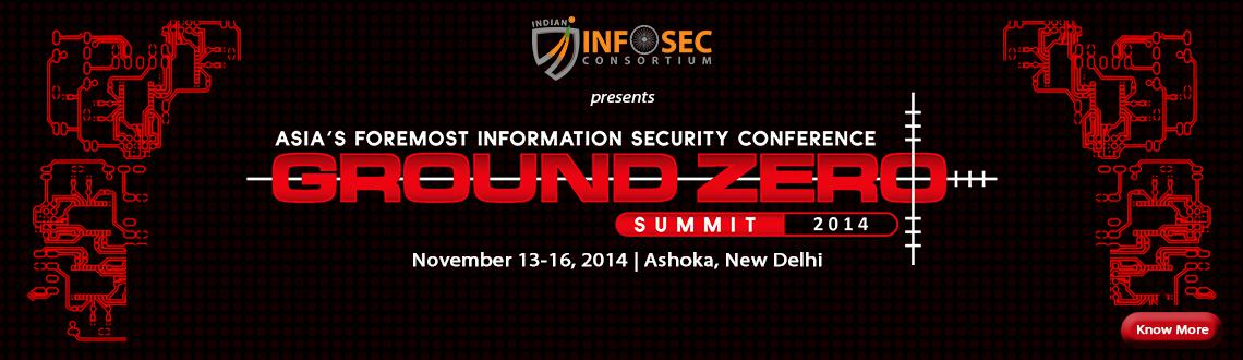 Ground Zero Summit 2014, India