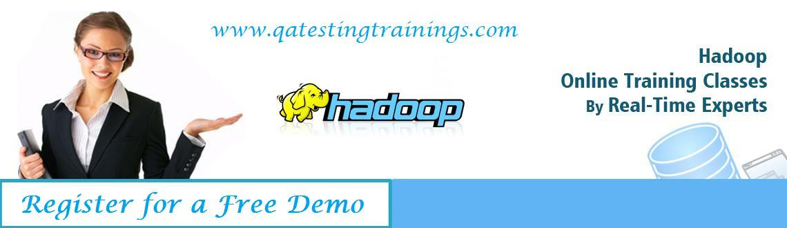 Book Online Tickets for Hadoop Big Data Online Training Classes-, . It has been seen many times that anywhere on web when big data is mentioned, the conversation is immediately changed to hadoop. What is hadoop? It has map reduce and hadoop file system in its core and it is created to take care of huge data across