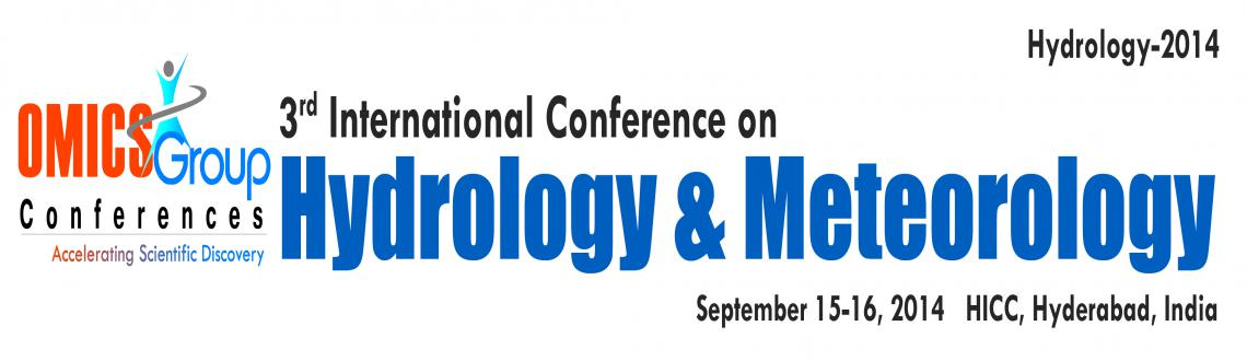 3rd International Conference on Hydrology  Meteorology