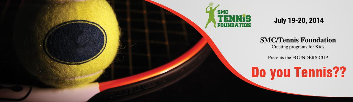 Book Online Tickets for  Founders Cup 2014 - Tennis Tournament , Hyderabad. The SMC/Tennis Foundation\\'s Founders Cup is an Open tournament for Hyderabad juniors ages 10, 12, 14, men\\'s singles and doubles.