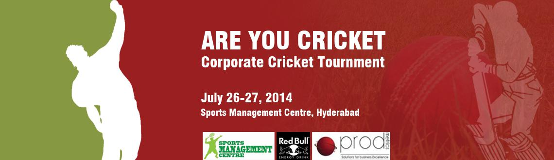 Book Online Tickets for SMC Corporate Cricket League 2014, Hyderabad. The Sports Management Centre's  Corporate Cricket League is open for individuals and corporate.  