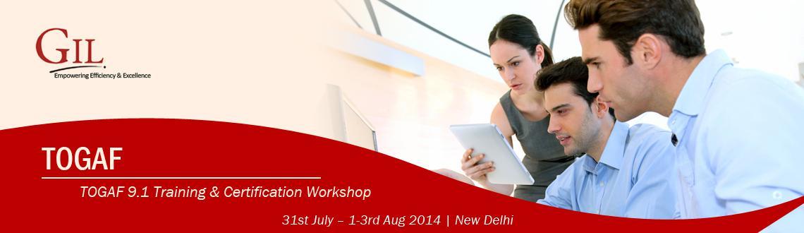 TOGAF 9.1 Training  Certification Workshop in Delhi