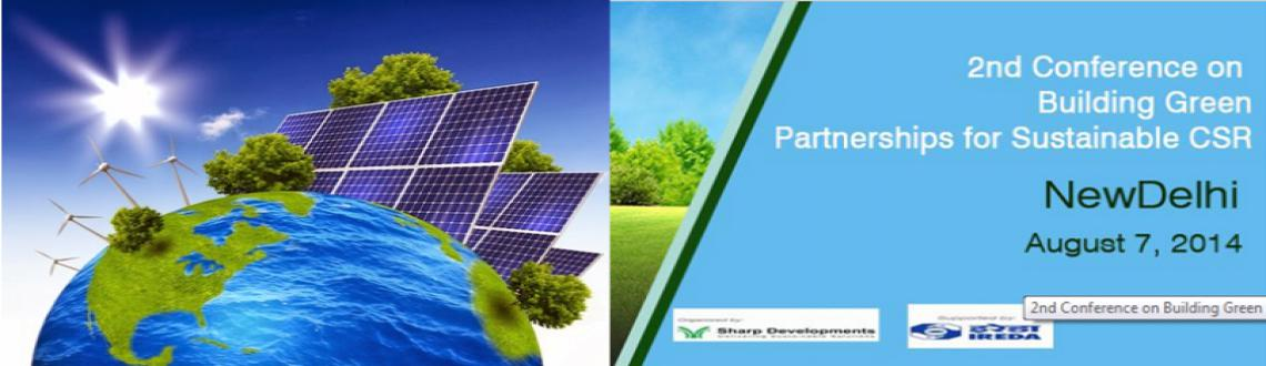 2nd Conference on Building Green Partnerships for Sustainable CSR
