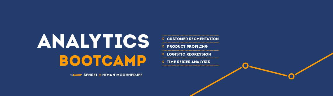 Analytics is the new frontier. Do you want to be there. Join our 2 day bootcamp in Bangalore and learn from Experts.
