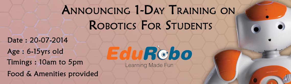 1-Day on Robotics for Students 20-07-2014
