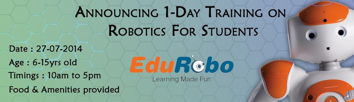 1-Day on Robotics for Students 27-07-2014
