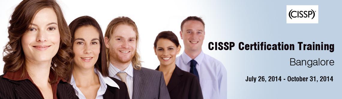 CISSP Certification Training in Bangalore on Jul-Dec, 2014
