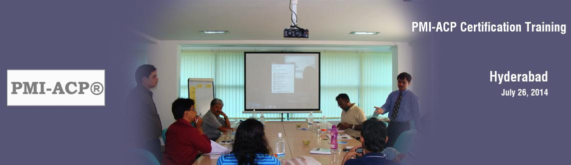 PMI-ACP Certification Training in Hyderabad on Jul-Dec, 2014