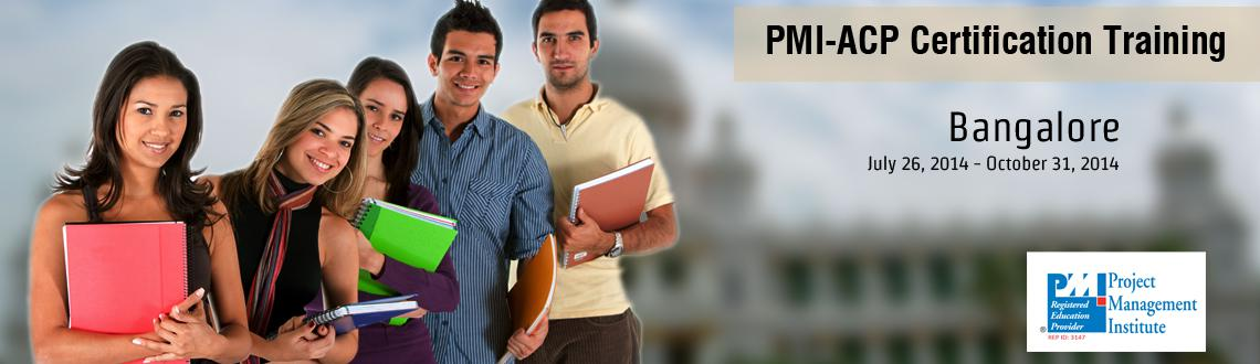PMI-ACP Certification Training in Bangalore on Jul-Dec, 2014