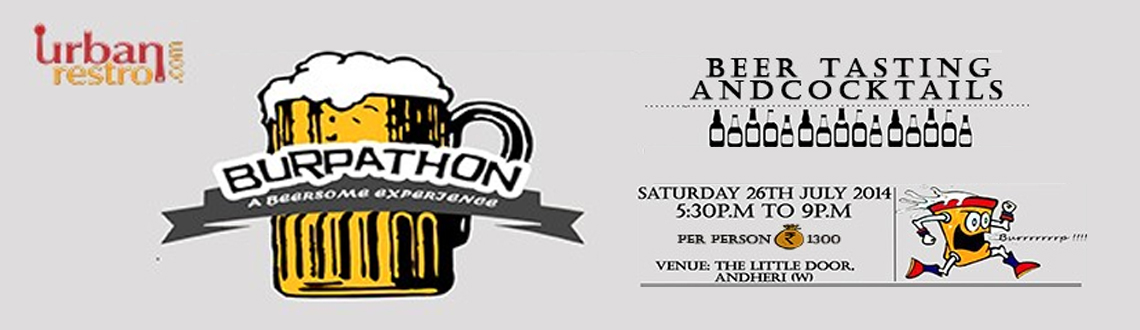 Burpathon - A Beersome Experience.