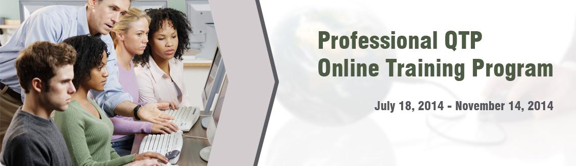 Book Online Tickets for Professional QTP Online Training Program, . IT is one of the most lucrative industries that promise a thriving career for its people with Software testing field. Qatestingonlinetraining.com is a placeholder of H2kinfosys that is the one of the leading online training portal for delivering job