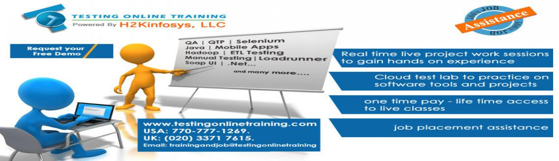 Book Online Tickets for Manual Testing Online Training and Place, . TestingOnlineTraining.com is a foremost online training portal that has designed Manual Testing course for both beginners and professionals. We provide Manual Testing online training across the world. We work with experts of Software Testing, they wi