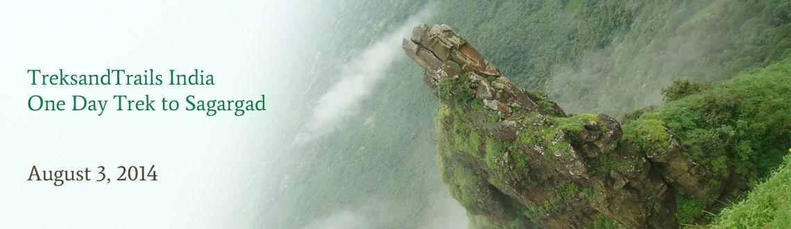 TreksandTrails India - One Day Trek to Sagargad near Alibaug August 3rd 2014 Sunday
