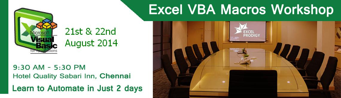 Learn Automation using Excel VBA Macro