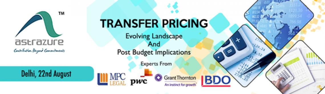 Book Online Tickets for TRANSFER PRICING - Evolving Landscape an, NewDelhi. Introduction:Since its introduction in 2001, the Indian transfer pricing regulations have gradually occupied the centre stage for tax litigation in India. Considering the drastic increase in the tax disputes involving transfer pricing cases, the last