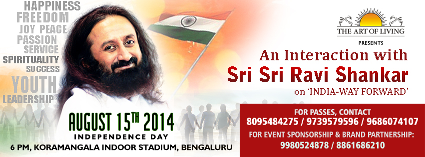 INDIA WAY-FORWARD: An Interaction with        Sri Sri Ravi Shankar