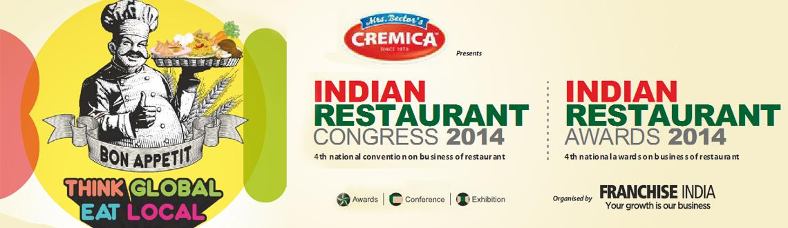 Indian Restaurant Congress 2014