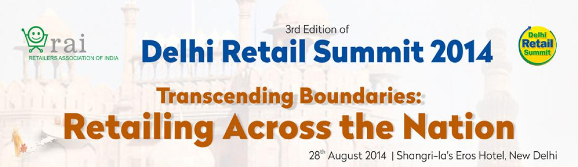 Book Online Tickets for Delhi Retail Summit (DRS) 2014, NewDelhi. As Delhi Retail Summit 2014 delegate, you will get to network and interact with the top retail experts and leaders to take away knowledge and enhance your understanding of the retail industry.