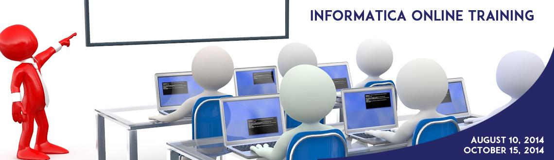 Book Online Tickets for Informatica Online Training and Placemen, . Our online training programs are very comprehensive and composited with unique modules on IT functionalities which create everlasting experience to the learners through e learning medium. Qatraininginusa.com is a placeholder of H2kinfosys that offer