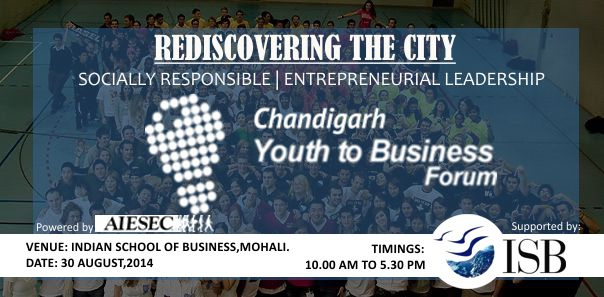 Chandigarh Youth to Business Forum