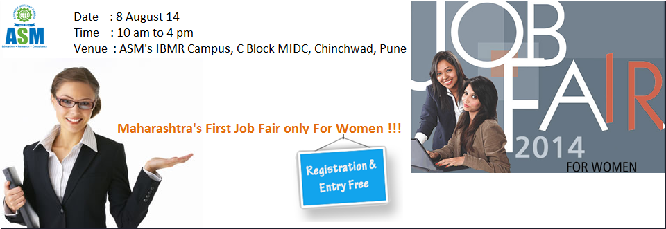 Women Job Fair at ASM, Pune