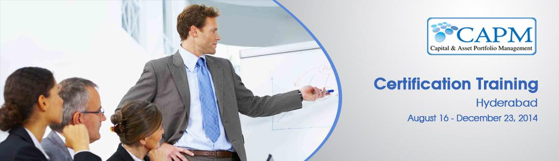 CAPM Certification Training in Hyderabad  on Aug-Dec, 2014