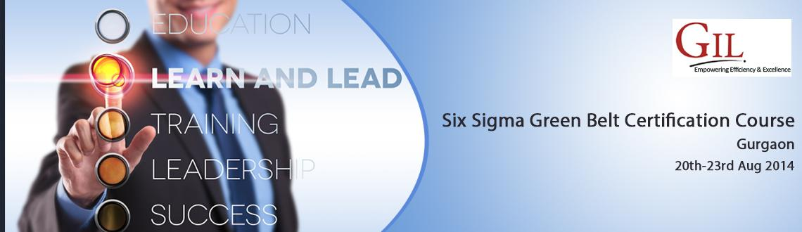 Six Sigma Green Belt Certification Course