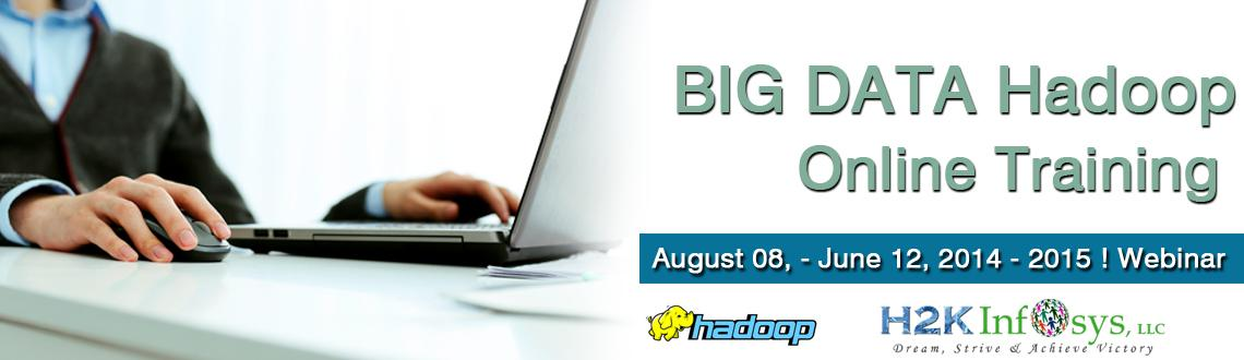 Hadoop BigData online Training | Hadoop Training in USA,UK