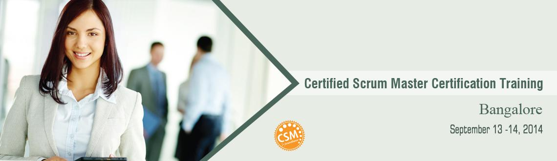 Certified ScrumMaster class - Bangalore (14 PDUs for PMP / PMI-ACP)