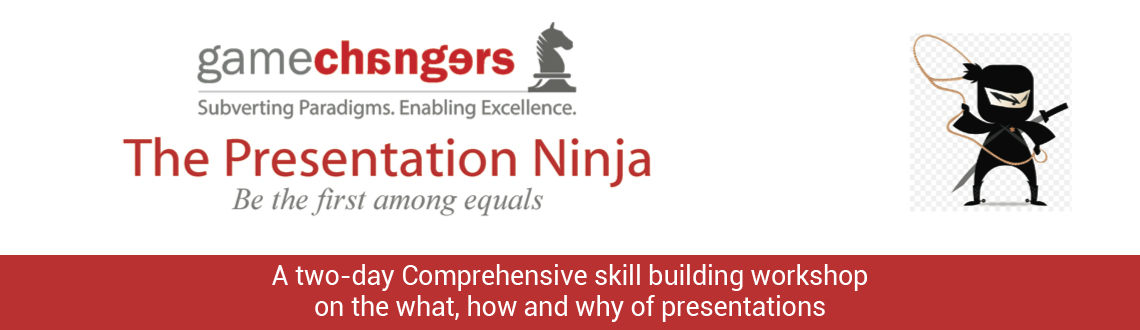Book Online Tickets for The Presentation Ninja, Chennai.