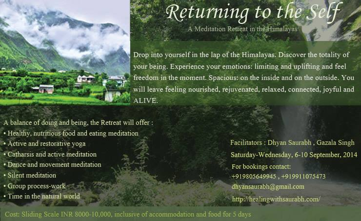 Returning to the Self: A Meditation Retreat in the Himalayas