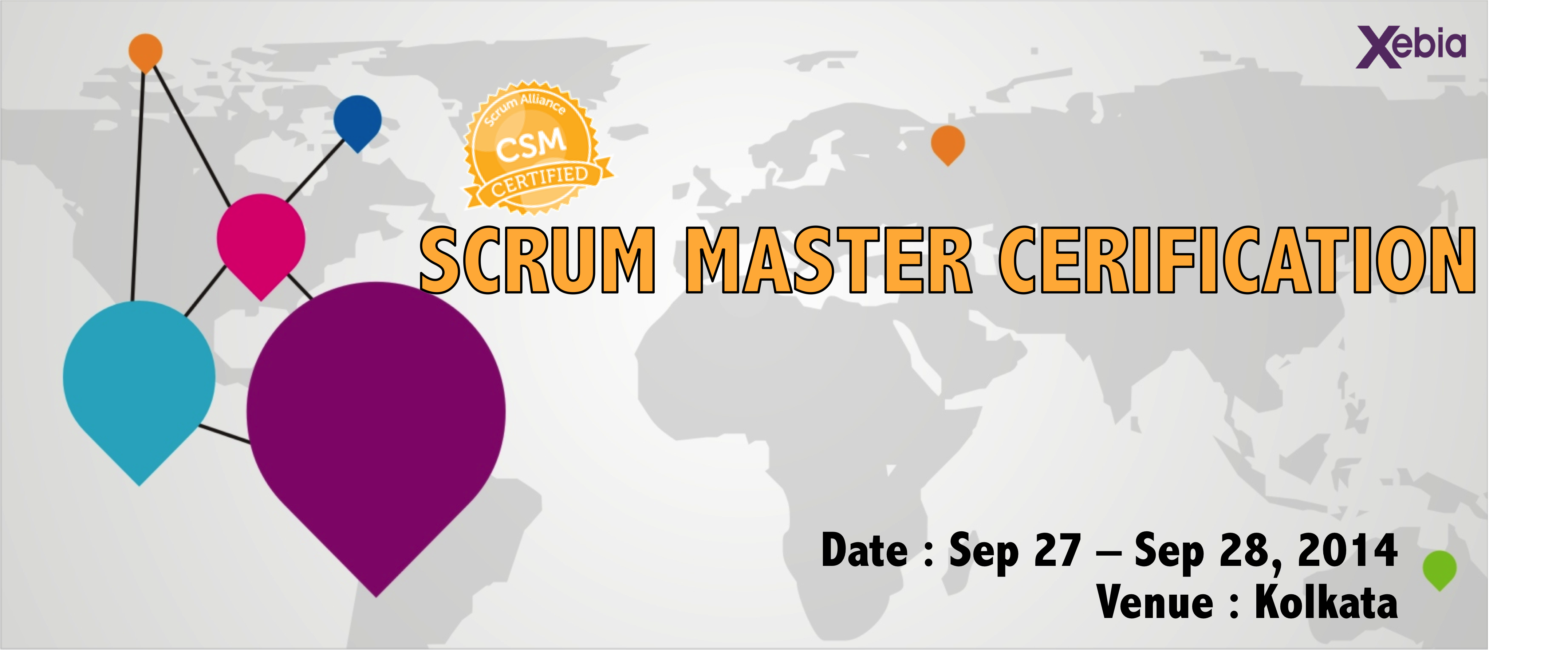 Scrum Master Certification is an official training by Scrum Alliance to be a Certified Scrum Master. Passing a test after it ensures csm certification